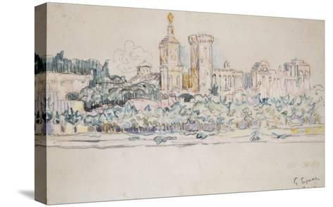 Avignon-Paul Signac-Stretched Canvas Print