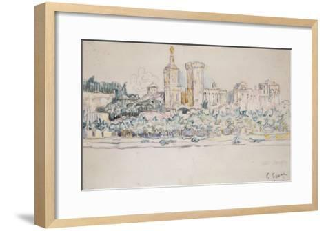 Avignon-Paul Signac-Framed Art Print