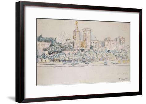 Avignon-Paul Signac-Framed Art Print