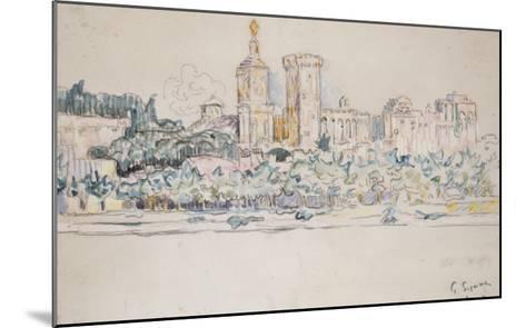 Avignon-Paul Signac-Mounted Giclee Print