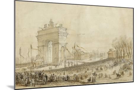 Retour des cendres de Napoléon Ier le 15 décembre 1840--Mounted Giclee Print