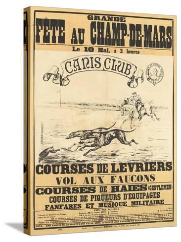 Grande fête au Champs-de-Mars--Stretched Canvas Print