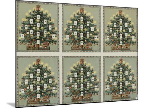 Loto au sapin de Noël--Mounted Giclee Print
