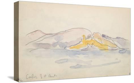 Carnet Corse : Calvi 30 Avril ?-Paul Signac-Stretched Canvas Print