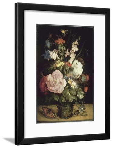 Bouquet de fleurs-Roelandt Savery-Framed Art Print