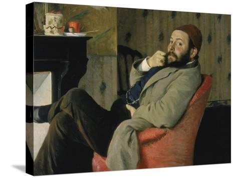 Carnet d'études-Gustave Moreau-Stretched Canvas Print