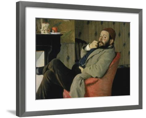 Carnet d'études-Gustave Moreau-Framed Art Print