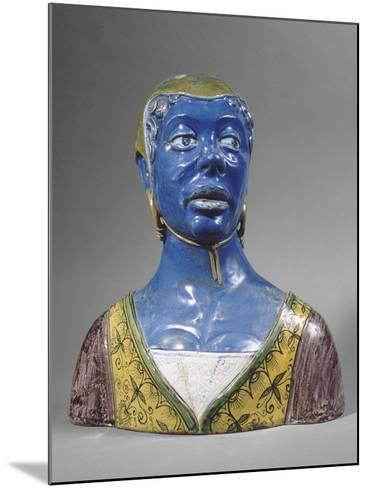 Buste de mauresque-Luca Della Robbia-Mounted Giclee Print