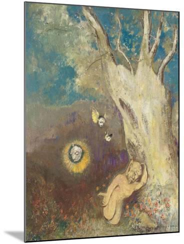Sommeil de Caliban (Shakespeare, la Tempête, acte II, scène II)-Odilon Redon-Mounted Giclee Print
