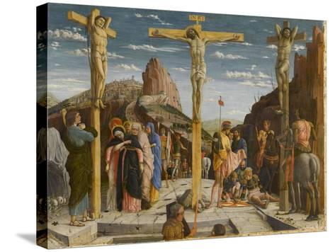 Le Calvaire-Andrea Mantegna-Stretched Canvas Print