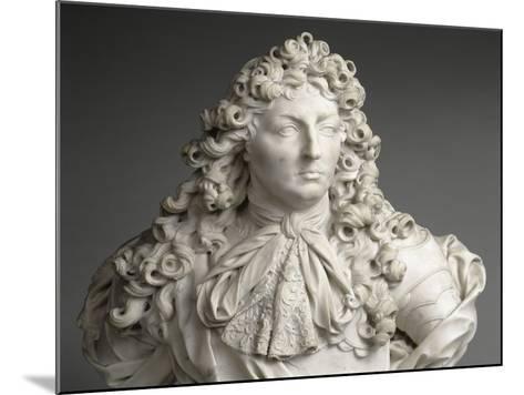 Buste de Louis XIV, roi de France et de Navarre (1638-1715)-Antoine Coysevox-Mounted Giclee Print