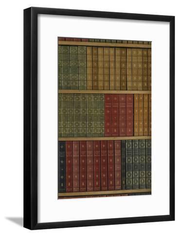 La Bibliothèque du Cabinet des livres--Framed Art Print
