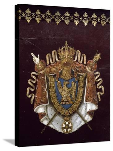"""Voiture de Napoléon pendant campagne de Russie : """"landau en berline"""", fourni par Getting en 1812.--Stretched Canvas Print"""