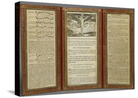 Canon d'autel--Stretched Canvas Print