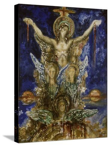 Le Christ R?dempteur-Gustave Moreau-Stretched Canvas Print