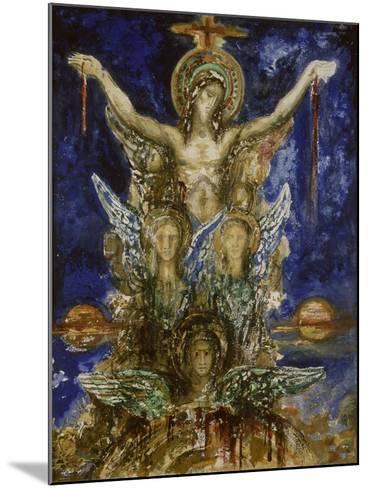 Le Christ R?dempteur-Gustave Moreau-Mounted Giclee Print