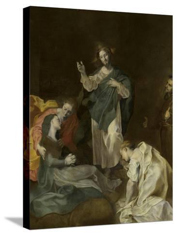Les adieux du Christ à sa mère-Federico Barocci-Stretched Canvas Print