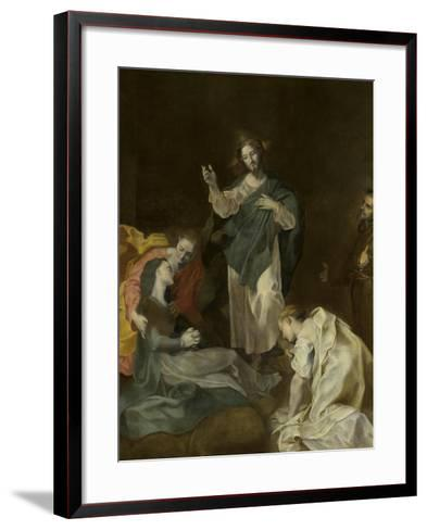 Les adieux du Christ à sa mère-Federico Barocci-Framed Art Print