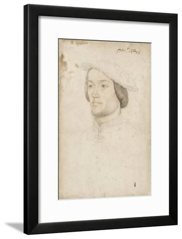 Jean de Brosse, duc d'Etampes (1505-1565)-Jean Clouet-Framed Art Print
