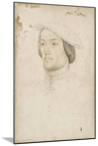 Jean de Brosse, duc d'Etampes (1505-1565)-Jean Clouet-Mounted Giclee Print