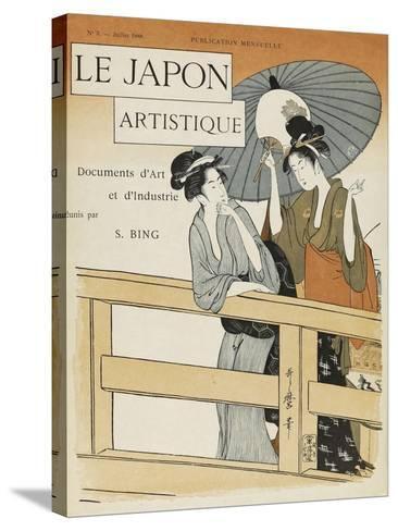 Le Japon artistique, n° 3--Stretched Canvas Print