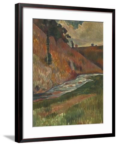 Paysage-Charles Laval-Framed Art Print