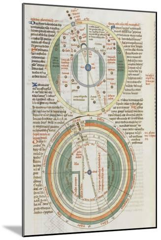 Liber Floridus par Lambert de Saint-Omer : Sphère du zodiaque--Mounted Giclee Print