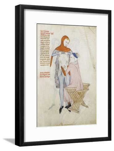 Liber notabilium Philippi septimi francorum regis, a libris Galieni extractus--Framed Art Print