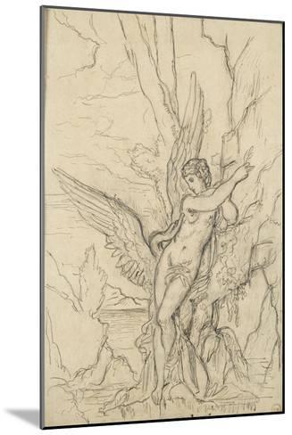 Léda-Gustave Moreau-Mounted Giclee Print