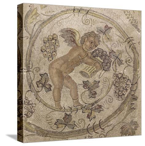 Amour vendangeur--Stretched Canvas Print