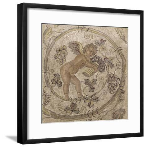 Amour vendangeur--Framed Art Print