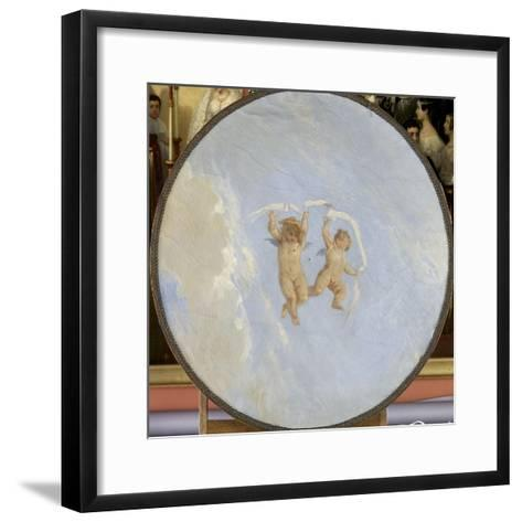 Amours-Adolphe Yvon-Framed Art Print