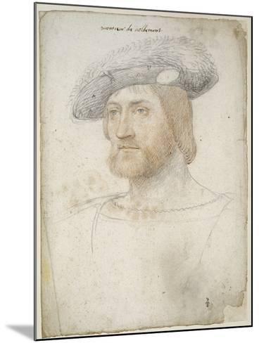 Louis de Lorraine, comte de Vaudémont (1500-1528)-Jean Clouet-Mounted Giclee Print