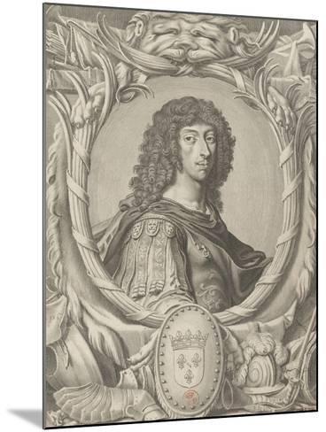 """Louis II de Bourbon, Prince de Condé dit """"Le grand Condé"""" (1621-1686)-Michel Lasne-Mounted Giclee Print"""