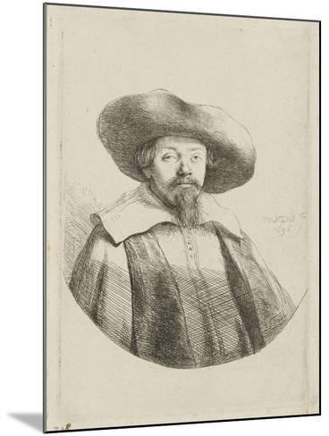Manasseh ben Israël-Rembrandt van Rijn-Mounted Giclee Print