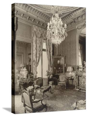 Hôtel particulier de Gustave Eiffel, 1 rue Rabelais-Paul-Joseph-Albert Chevojon-Stretched Canvas Print