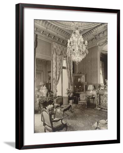 Hôtel particulier de Gustave Eiffel, 1 rue Rabelais-Paul-Joseph-Albert Chevojon-Framed Art Print
