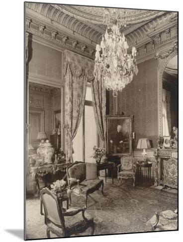 Hôtel particulier de Gustave Eiffel, 1 rue Rabelais-Paul-Joseph-Albert Chevojon-Mounted Giclee Print