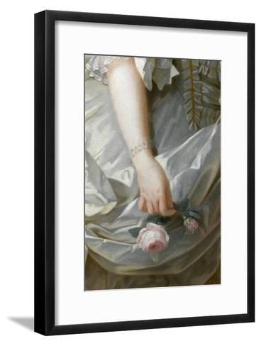 Marie-Antoinette de Lorraine-Habsbourg, archiduchesse d'Autriche, reine de France (1755-1795)-Brun Elisabeth Louise Vig?e-Le-Framed Art Print