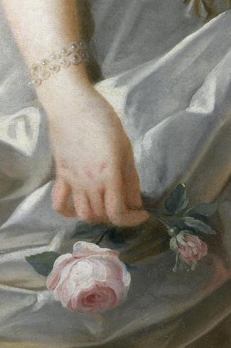 Marie-Antoinette de Lorraine-Habsbourg, archiduchesse d'Autriche, reine de France (1755-1795)-Brun Elisabeth Louise Vig?e-Le-Stretched Canvas Print
