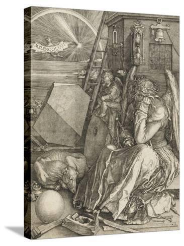 La Mélancolie-Albrecht D?rer-Stretched Canvas Print