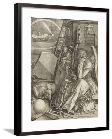 La Mélancolie-Albrecht D?rer-Framed Art Print
