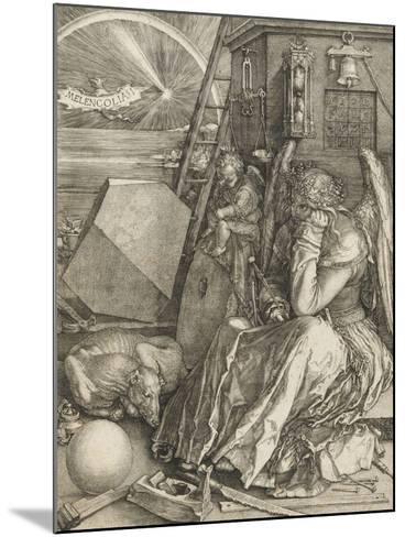 La Mélancolie-Albrecht D?rer-Mounted Giclee Print