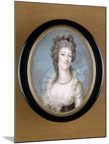 Marie-Antoinette, reine de France représentée en 1792--Mounted Giclee Print