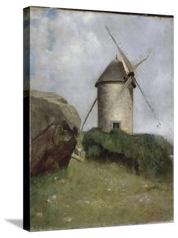 Moulin en Bretagne-Odilon Redon-Stretched Canvas Print