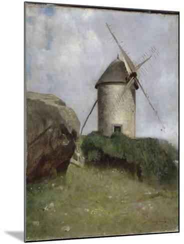 Moulin en Bretagne-Odilon Redon-Mounted Giclee Print