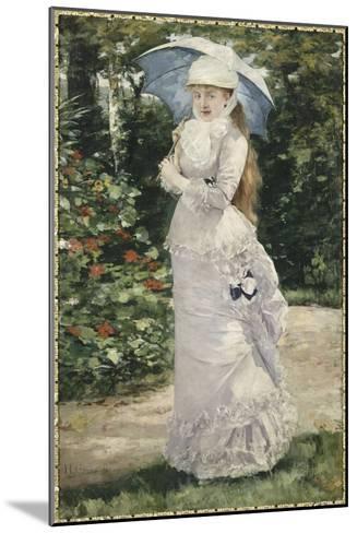 Madame Valtesse de la Bigne (1861-1910)-Henri Gervex-Mounted Giclee Print
