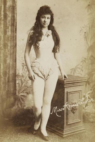 Miss Annie Luker--Stretched Canvas Print