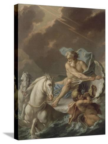 Neptune-Etienne Jeaurat-Stretched Canvas Print
