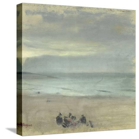 Marine-Edgar Degas-Stretched Canvas Print